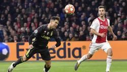 Cristiano Ronaldo traf per Kopf gegen Ajax