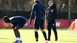 Pogba en un entrenamiento a las órdenes de Ole Gunnar Solskjær. (Foto: Getty)