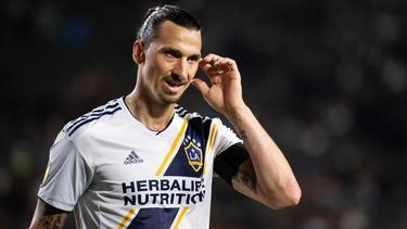 Acht Tore in bislang neun Saisonspielen mit LA Galaxy: Zlatan Ibrahimovic