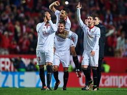 Jotevic hacía el gol de la victoria (90+2), tras perder el balón Karim Benzema. (Foto: Getty)