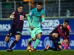 Messi y el número 7 del Eibar podrían terminar la temporada juntos en el Barcelona. (Foto: Getty)