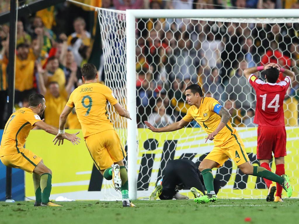 Tim Cahill besiegelte das WM-Aus Syriens
