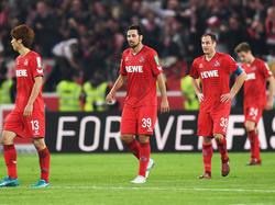 Lange Gesichter beim 1. FC Köln