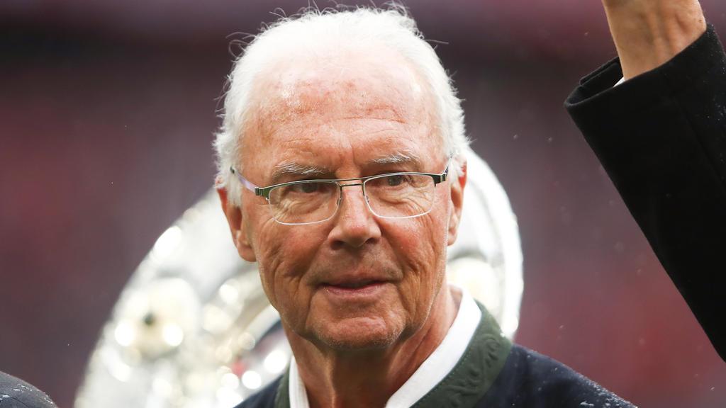 Franz Beckenbauer berichtet von einem Augeninfarkt