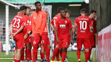 Der FC Augsburg schied gegen Regionalligist SC Verl aus