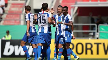 Hertha BSC gewann deutlich gegen den VfB Eichstätt