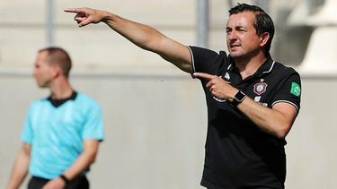 Erzgebirge Aue trennt sich von Trainer Daniel Meyer