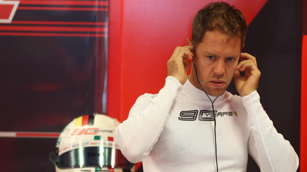Sebastian Vettel befindet sich in einer schweren Krise