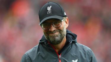 Beim FC Liverpool total glücklich: Jürgen Klopp