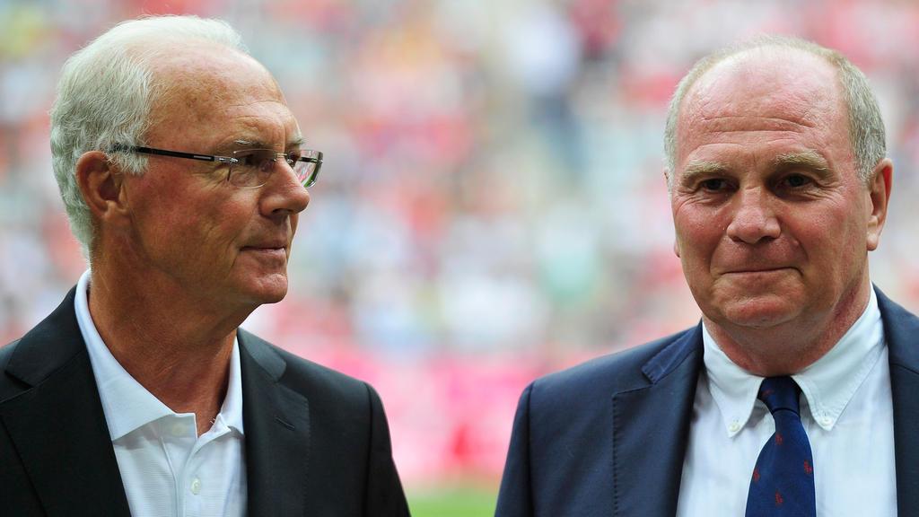 Franz Beckenbauer bedankt sich zum Abschied per Brief bei an Uli Hoeneß