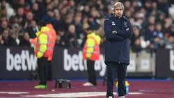 Teammanager Manuel Pellegrini muss bei West Ham gehen
