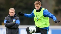 Könnte von Hertha-Trainer Jürgen Klinsmann wieder in der Startelf aufgeboten werden:Niklas Stark