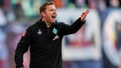 Florian Kohfeldt steckt mit Werder Bremen mitten im Abstiegskampf