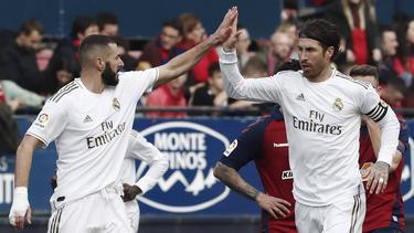 El Real Madrid completó un partido serio en Navarra.