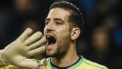 Wurde wegen rassistischer Äußerungen für acht Spiele gesperrt: Torwart Francisco 'Kiko' Casilla