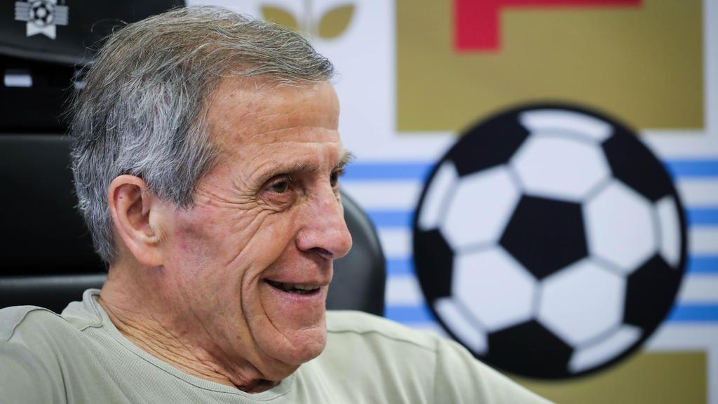 Óscar Tabárez en una imagen reciente.
