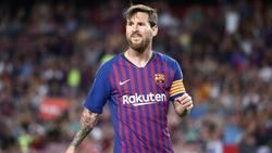 Verzichtet wie auch sein Barça-Teamkollegen auf ein Großteil seines Gehaltes: Lionel Messi