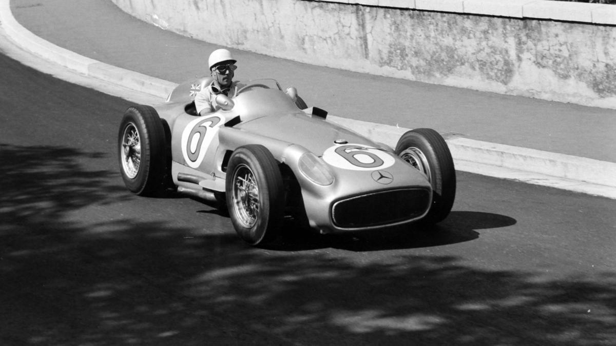 Stirling Moss fuhr 1955 für Mercedes