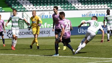 Der HSV und die SpVgg Greuther Fürth trennten sich mit 2:2