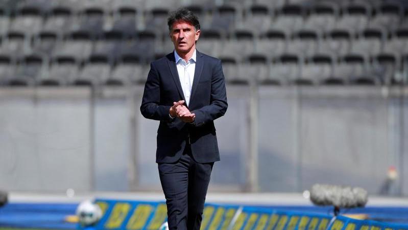 Bruno Labbadia trainiert Hertha BSC