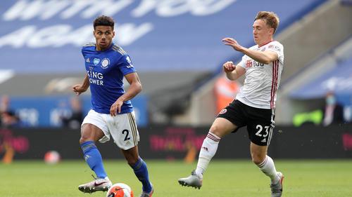 Leicester City setzte sich gegen Sheffield United durch