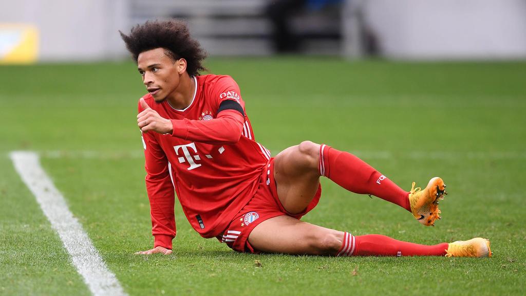 Leroy Sané hat sich verletzt, David Alaba ist beim FC Bayern fraglich