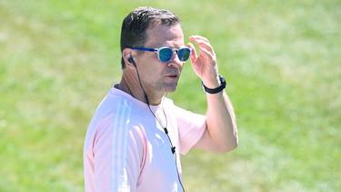 Oliver Bierhoff freut sich für die U21 des DFB