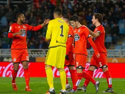 Luis Alberto abrió el marcador en Anoeta en el minuto 26. (Foto: Imago)