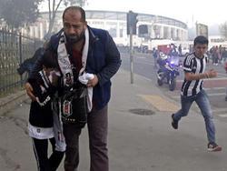 Fan-Krawalle in Istanbul vor dem Heimspiel von Besiktas