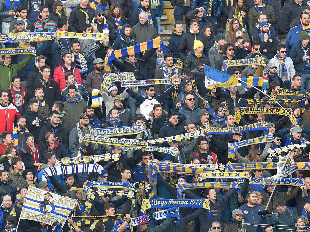 Die Tifosi des Parma FC erleben den Niedergang ihrers Klubs