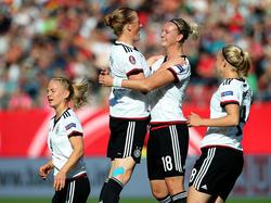 Jubel beim DFB-Team