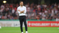 Domenico Tedesco und die Schalker stehen nach vier Spieltagen bei null Punkten