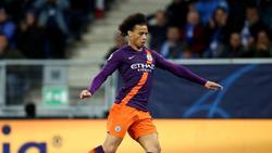Leroy Sanés aktueller Vertrag bei Manchester City läuft bis 2021