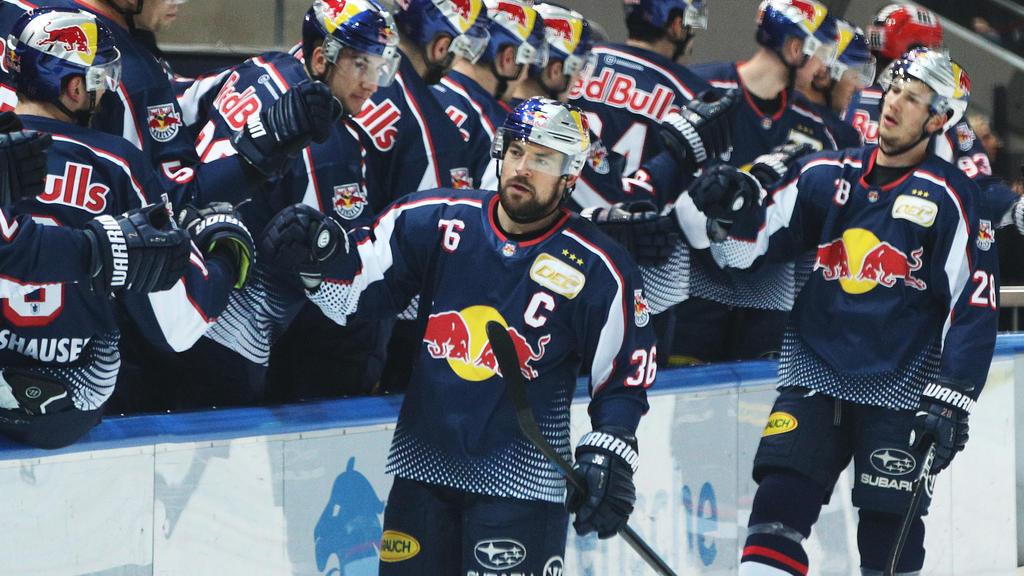 Der EHC Red Bull München hat das Toreschießen nicht verlernt