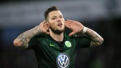 Daniel Ginczek hat beim VfL Wolfsburg einen Lauf