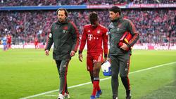 Kingsley Coman droht dem FCBayern München erneut verletzungsbedingt auszufallen