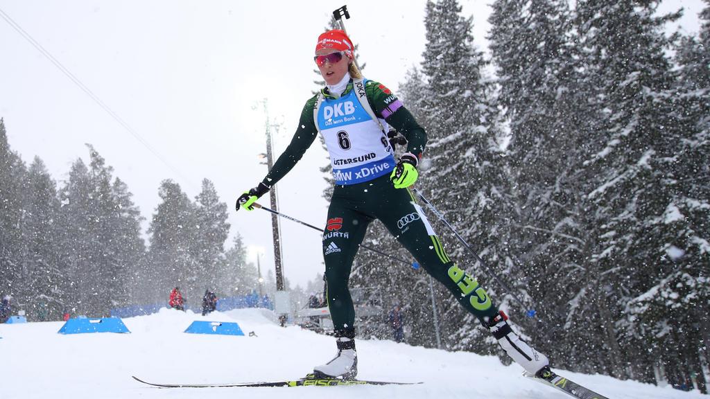 Denise Herrmann peilt bei der Biathlon-WM weitere Medaillen an