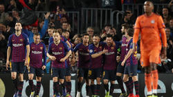 Der FC Barcelona feierte am Ende einen ungefährdeten Sieg ein
