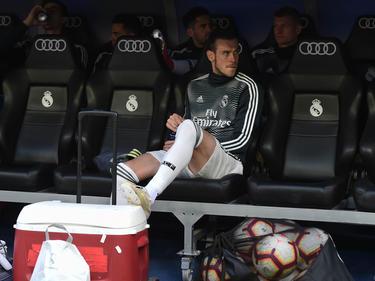 Bale en el banquillo del Bernabéu en el último duelo ante el Betis. (Foto: Getty)