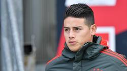 James Rodríguez steht beim FC Bayern offenbar vor dem Abschied