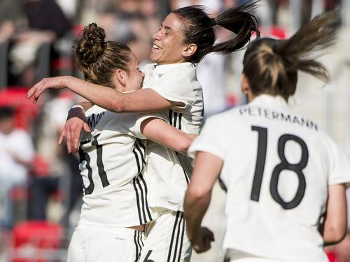 Knapper Sieg für die deutschen Frauen gegen Kanada