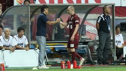 Andres Iniesta konnte die Niederlage nicht abwenden