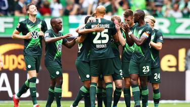 Der VfL Wolfsburg setzte sich gegen den 1. FC Köln durch