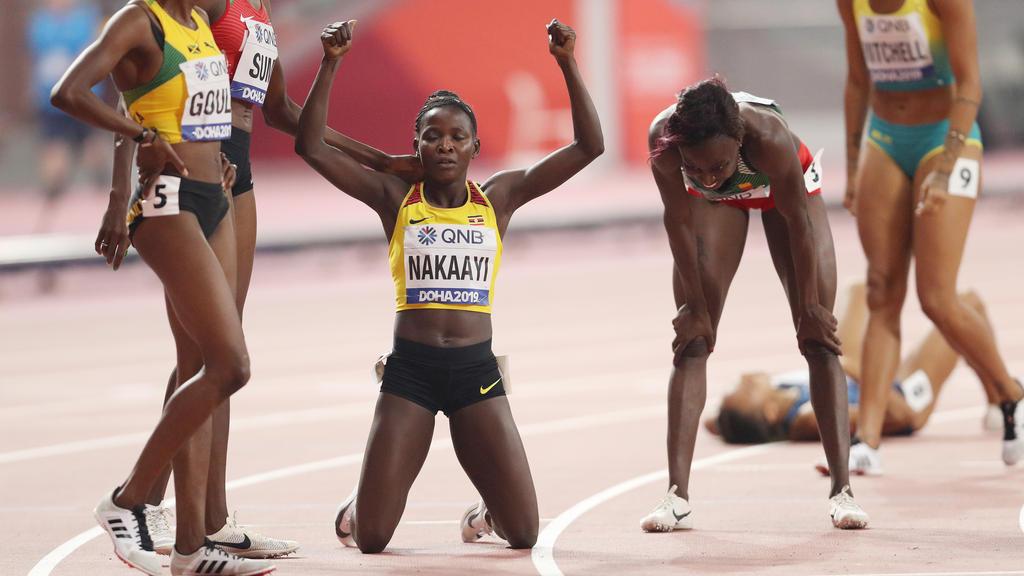 Halimah Nakaayi ist neue Weltmeisterin über 800 Meter