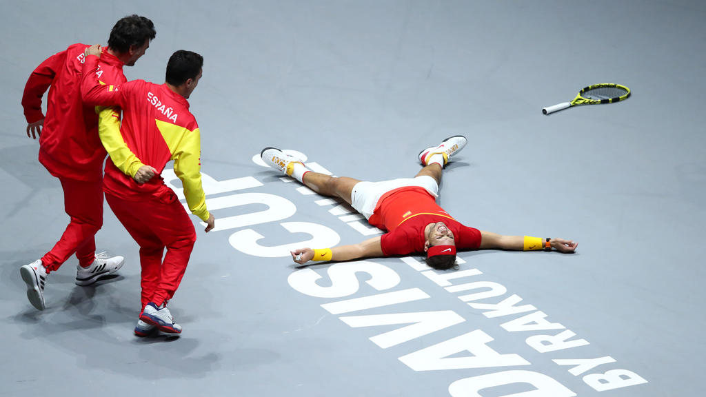 Rafael Nadal gewann sein Einzel gegen Denis Shapovalov
