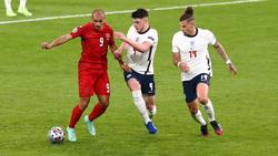 Declan Rice und Kalvin Phillips ordnen bei England das Mittelfeld