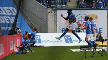 Hansa Rostock behielt gegen Darmstadt die Punkte zu Hause