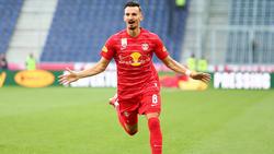 Mergim Berisha geht (weiter) für RB Salzburg auf Torejagd