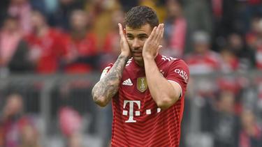 Lucas Hernández vom FC Bayern München