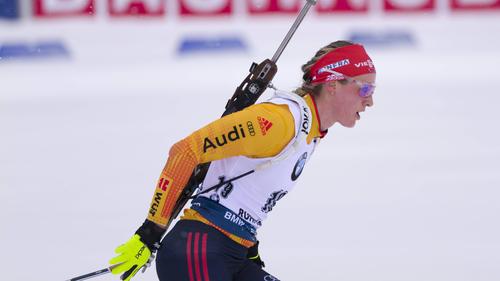 Denise Herrmann zeigte eine fehlerfreie Leistung